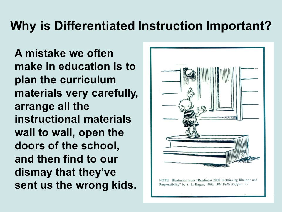 Why is Differentiated Instruction Important