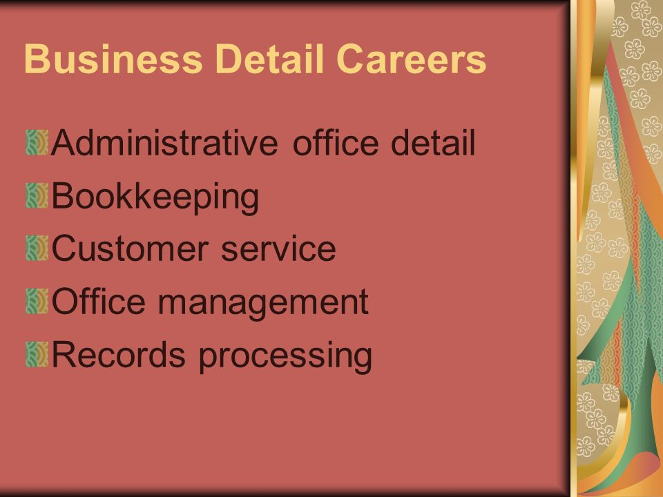 Business Detail Careers
