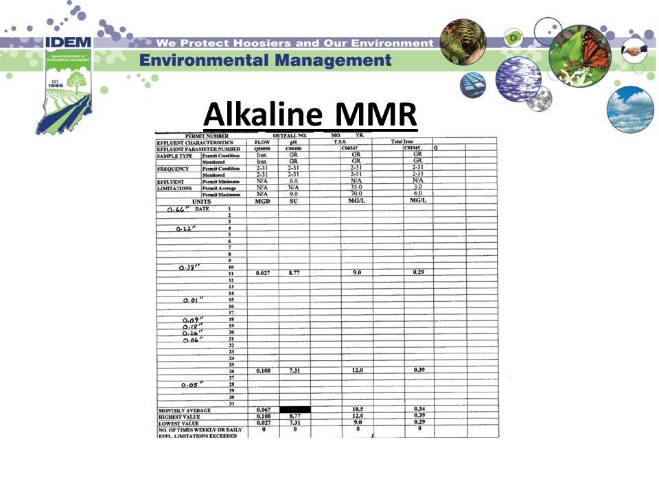 Alkaline MMR