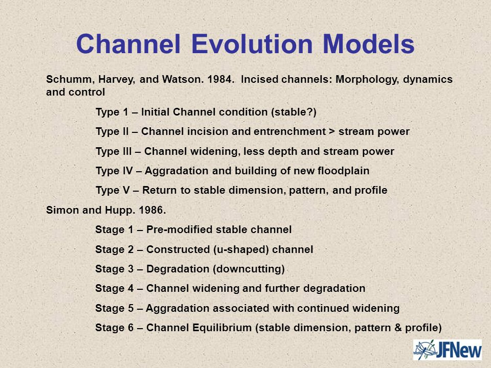 Channel Evolution Models