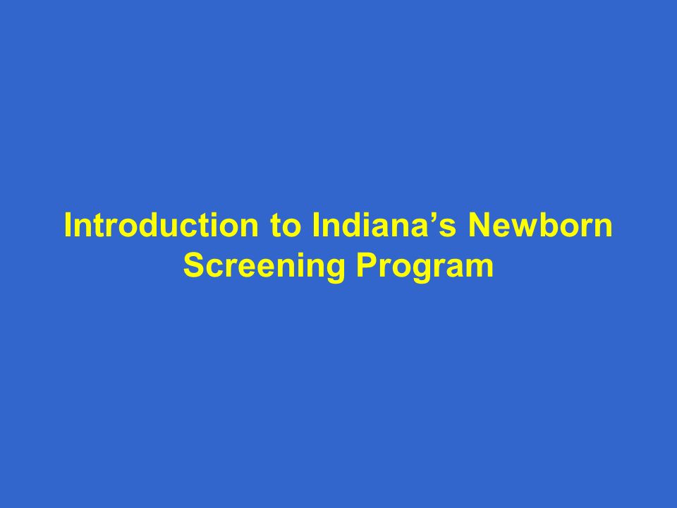 newborn screening program When speaking about newborn screening, a panel is the list of conditions a state screens for as part of their newborn screening program.