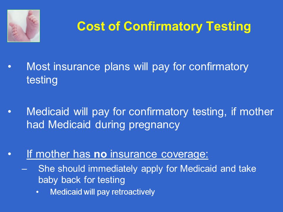 Cost of Confirmatory Testing