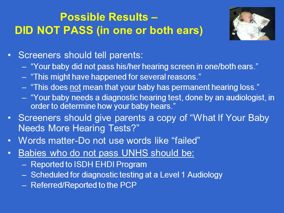 how to pass a hearing test with bad hearing