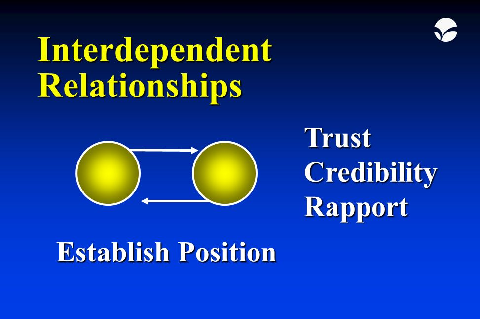 what is interdependent relationship