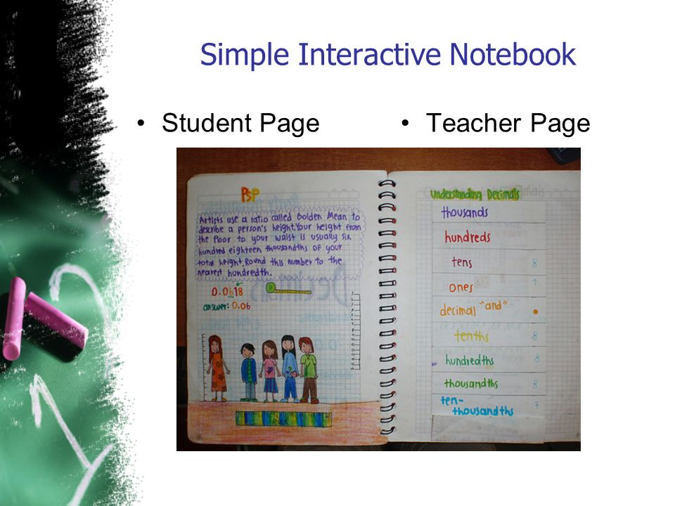 Simple Interactive Notebook