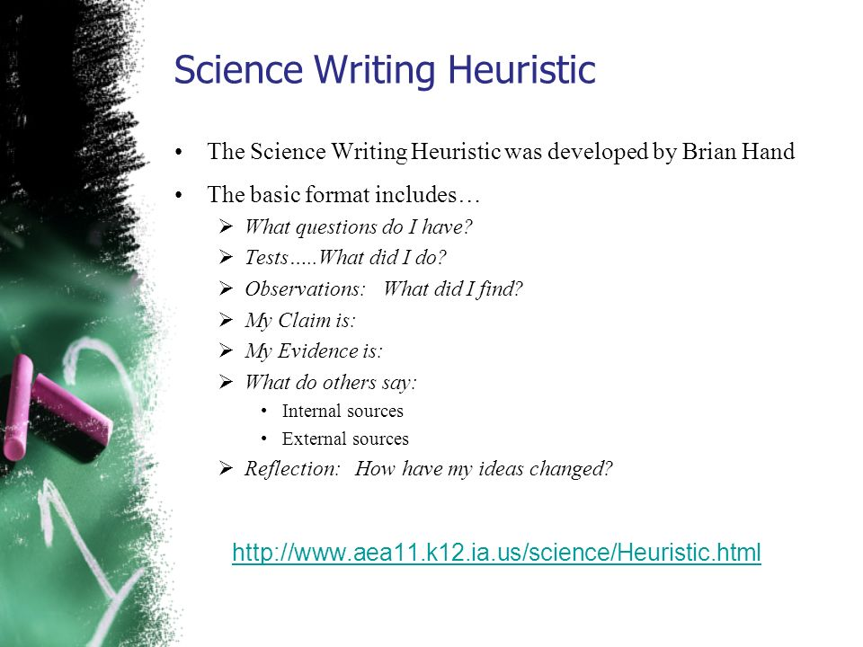 Science Writing Heuristic