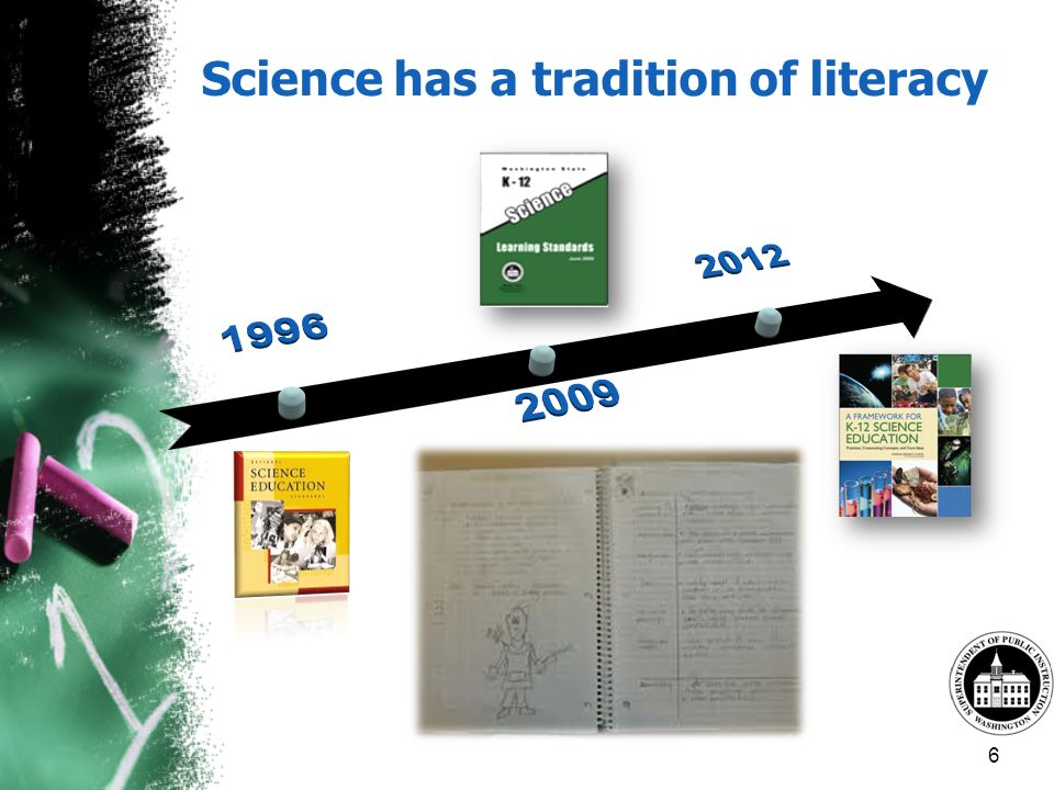 Science has a tradition of literacy