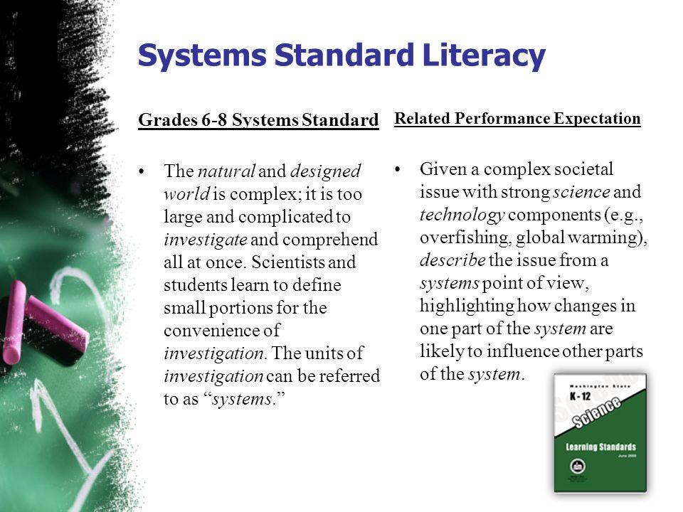Systems Standard Literacy