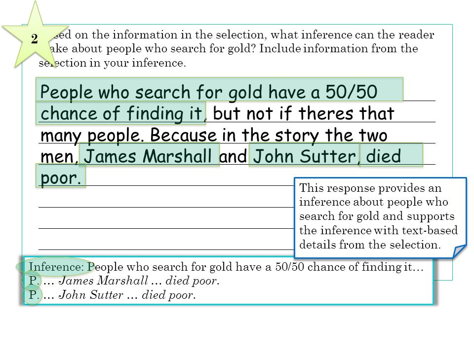 People who search for gold have a 50/50