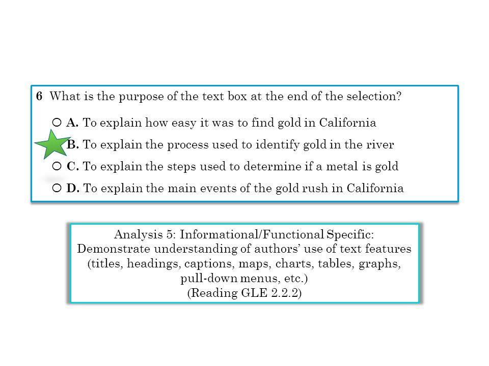 Analysis 5: Informational/Functional Specific: