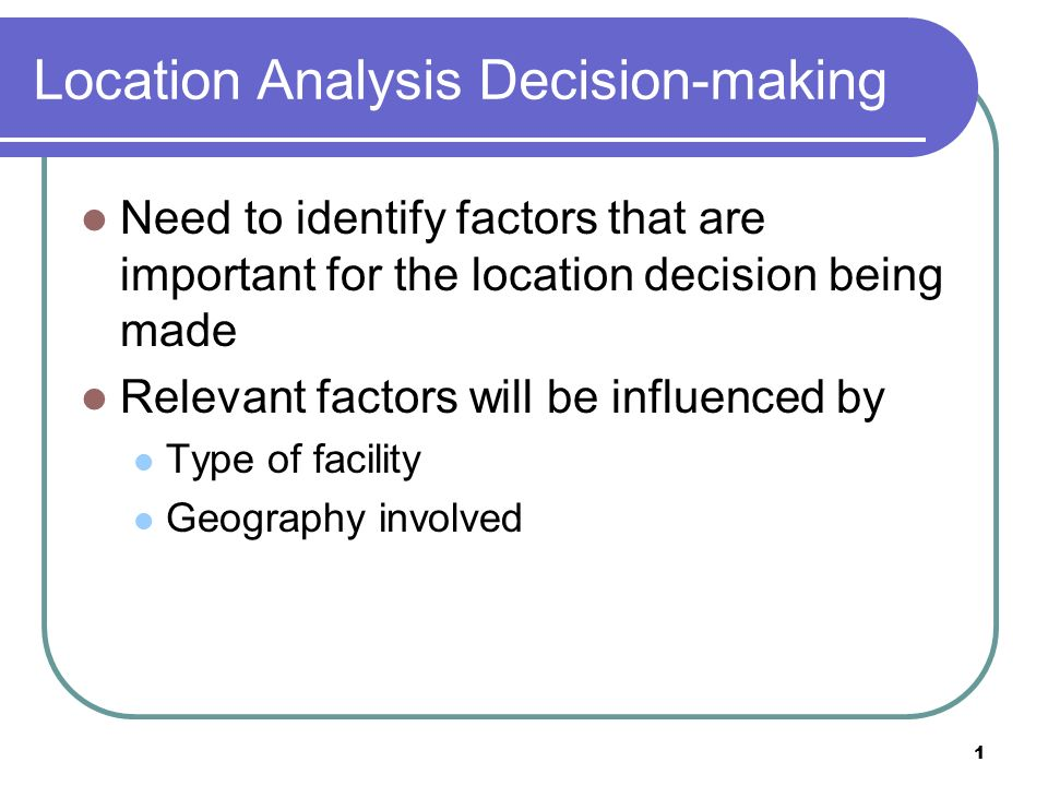 important of location decision in retailing The store display plays an important role in influencing the buying decision of the customers it is the display of the store which attracts passing individuals into the store the store must have an attractive display to entice the customers shopping may be the last priority for an individual but.