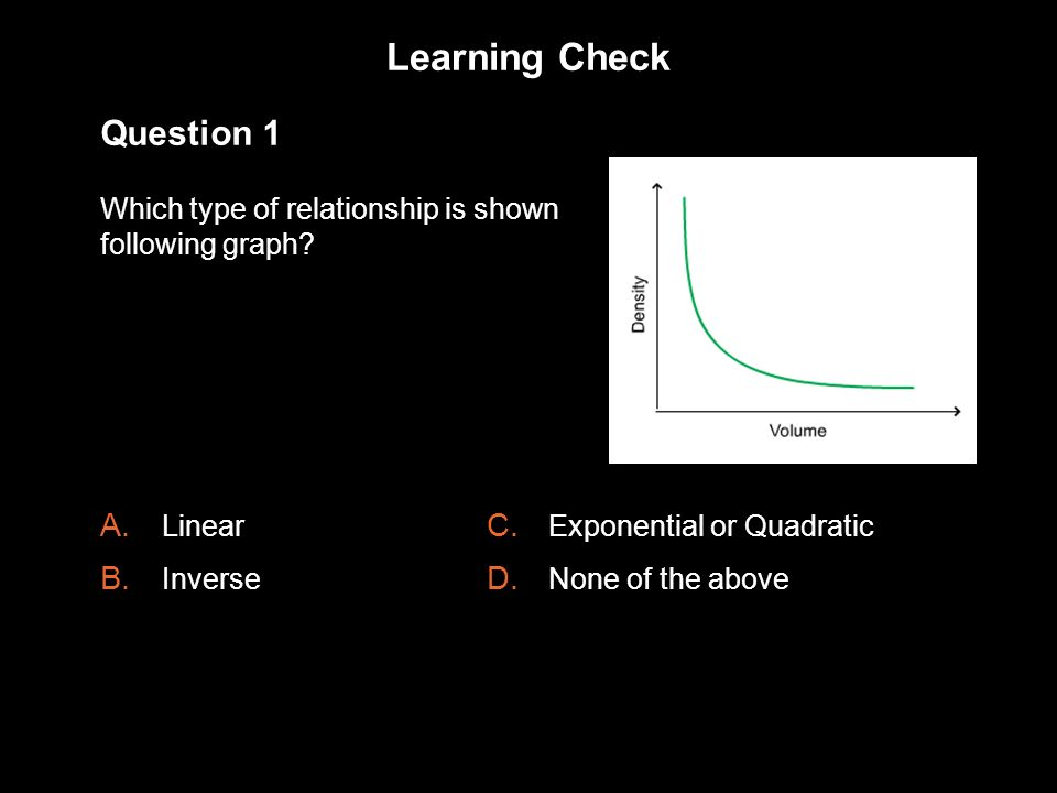 Learning Check 1.3 Question 1
