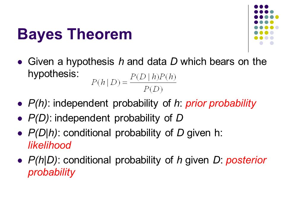 bayes theorem conditional probabilities The correct probabilities into bayes theorem you get the correct answer it is worse even than the examples i ridiculed in my previous post what is the probability to draw a jack if the card drawn was a face.