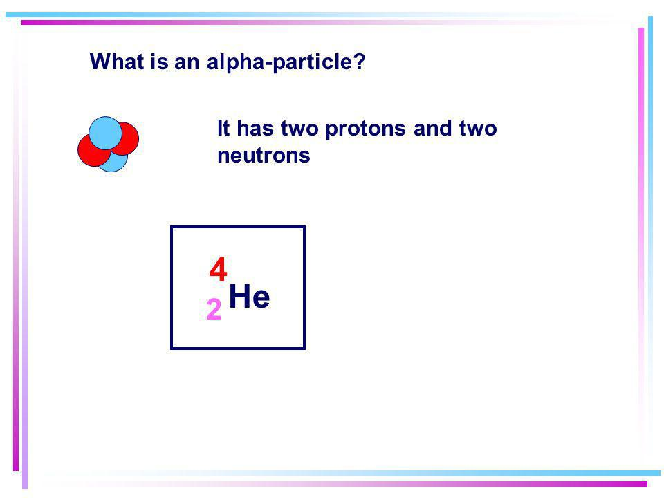 What is an alpha-particle