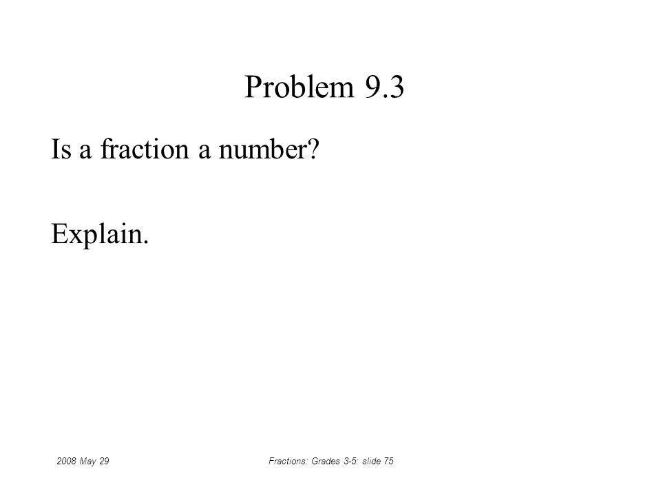 Is a fraction a number Explain.