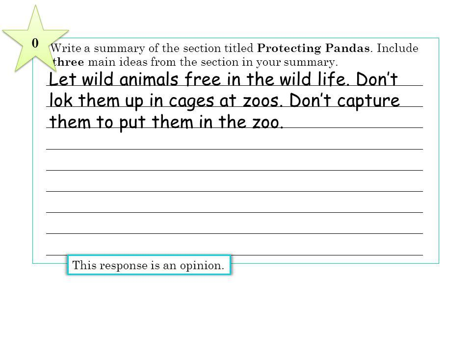 Let wild animals free in the wild life. Don't