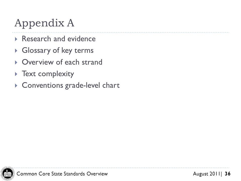 Appendix A Research and evidence Glossary of key terms