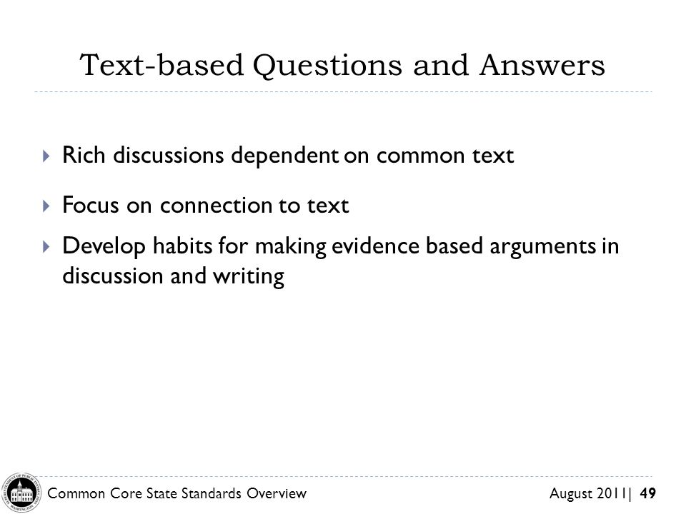 Text-based Questions and Answers