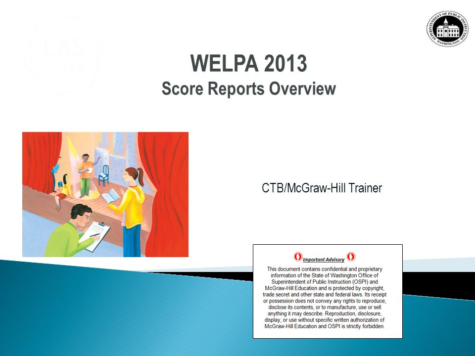 Score Reports Overview