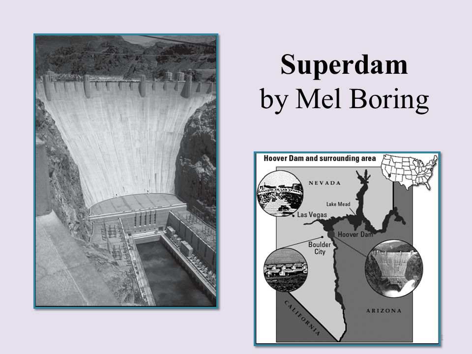 Superdam by Mel Boring