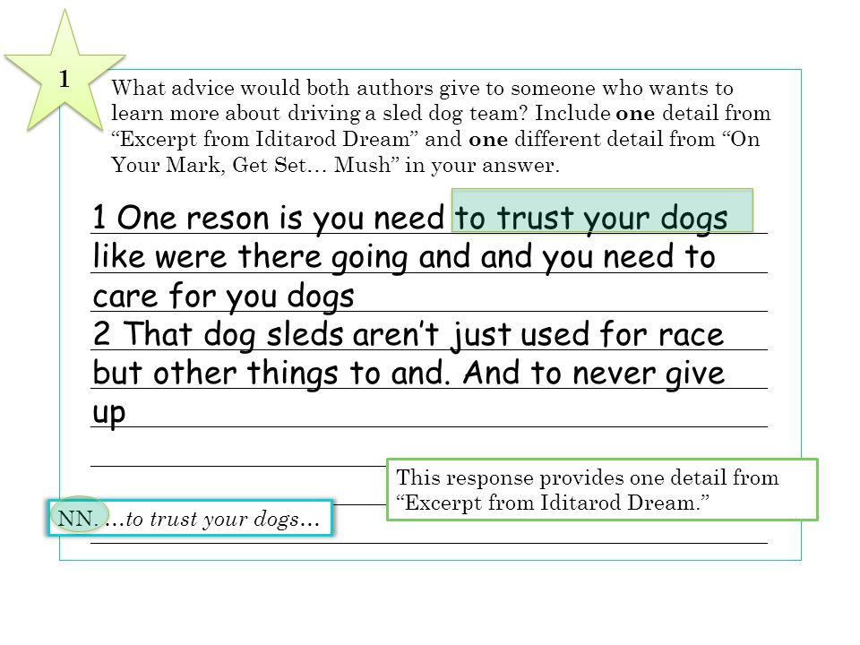 1 One reson is you need to trust your dogs