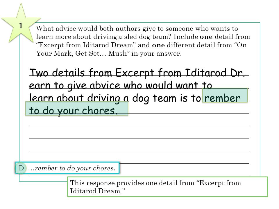 Two details from Excerpt from Iditarod Dr.