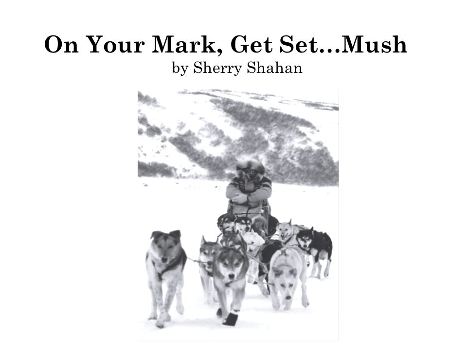 On Your Mark, Get Set…Mush