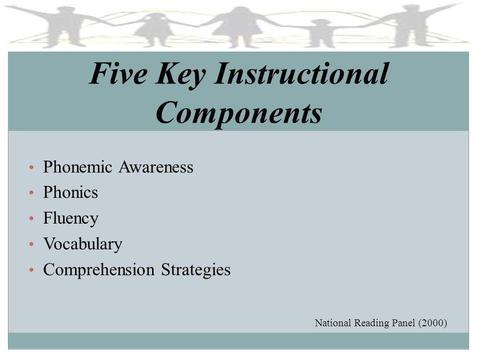Five Key Instructional Components