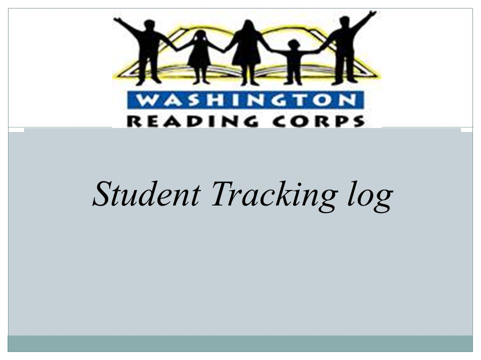 Student Tracking log