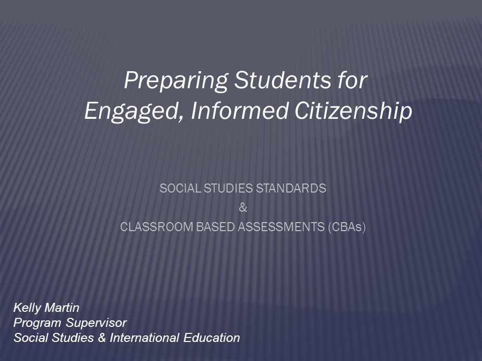 Preparing Students for Engaged, Informed Citizenship