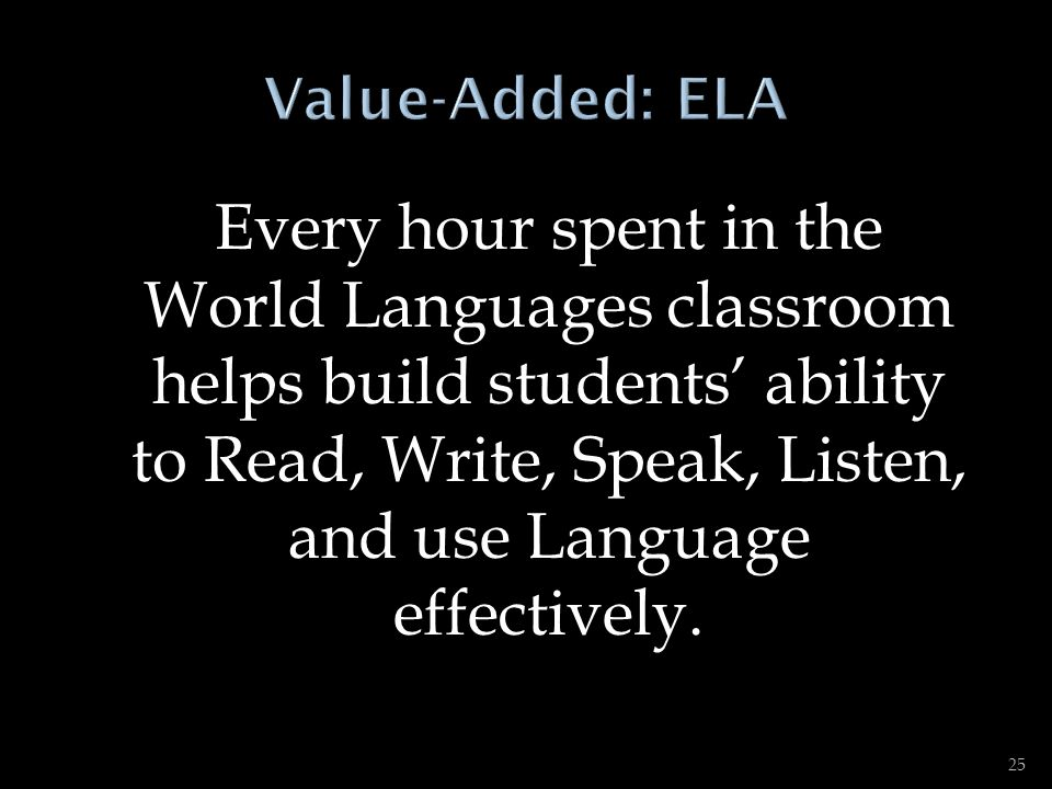 Value-Added: ELA