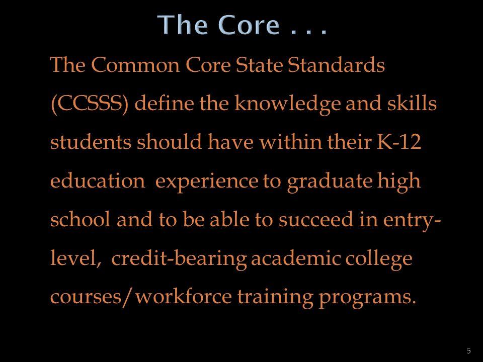 The Core . . .