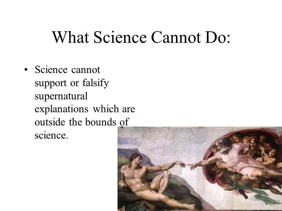 What Science Cannot Do: