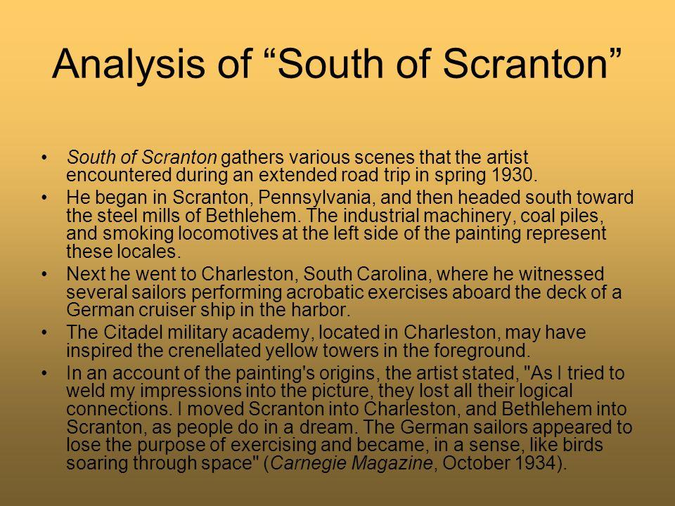 Analysis of South of Scranton