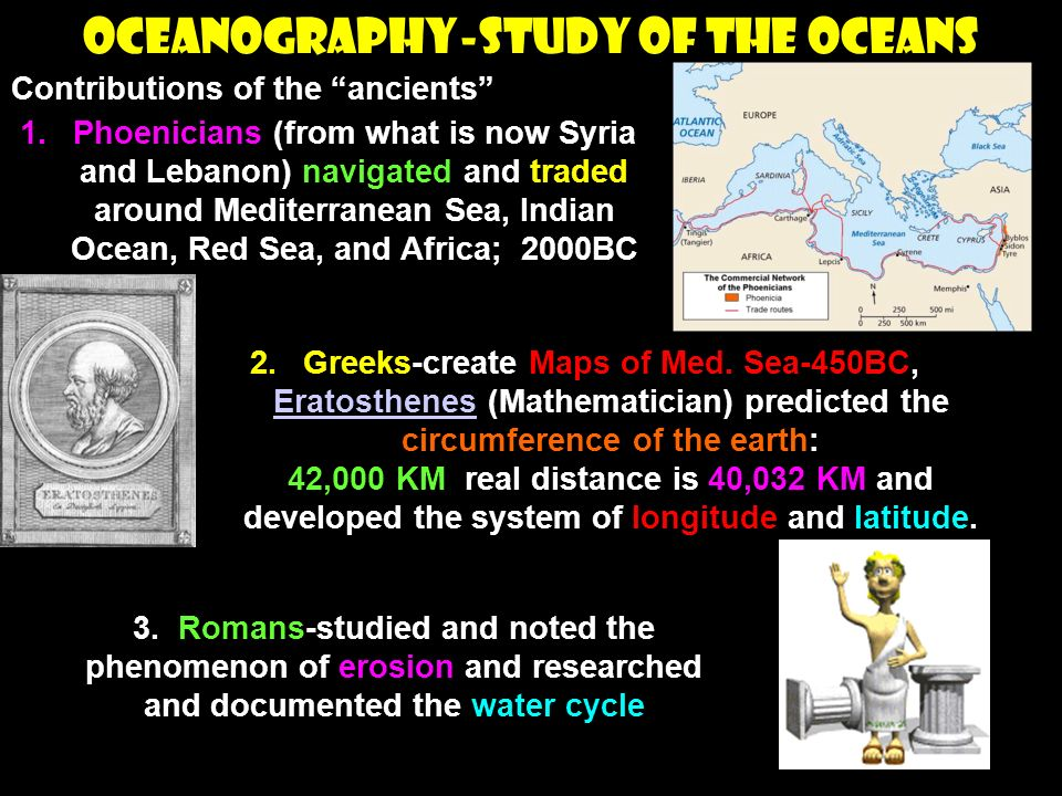 OCEANOGRAPHY-Study of the Oceans