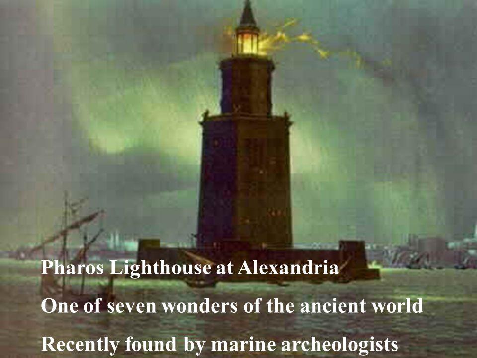 Pharos Lighthouse at Alexandria