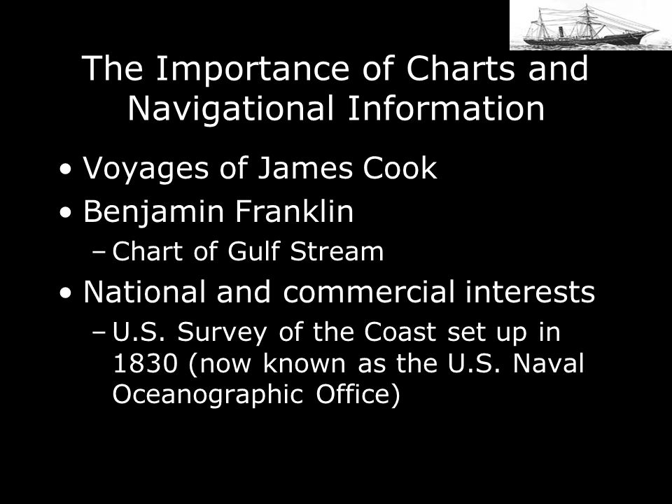 The Importance of Charts and Navigational Information