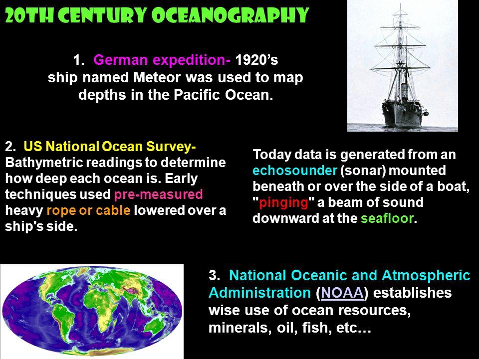 20th Century Oceanography