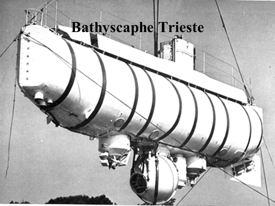 Bathyscaphe Trieste