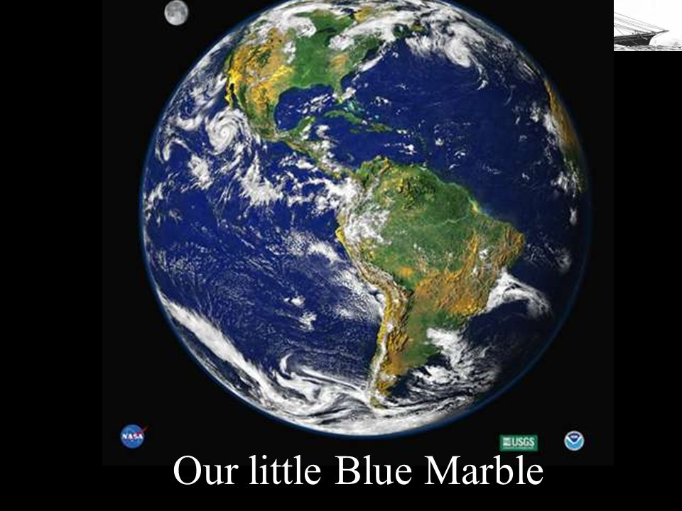 Our little Blue Marble