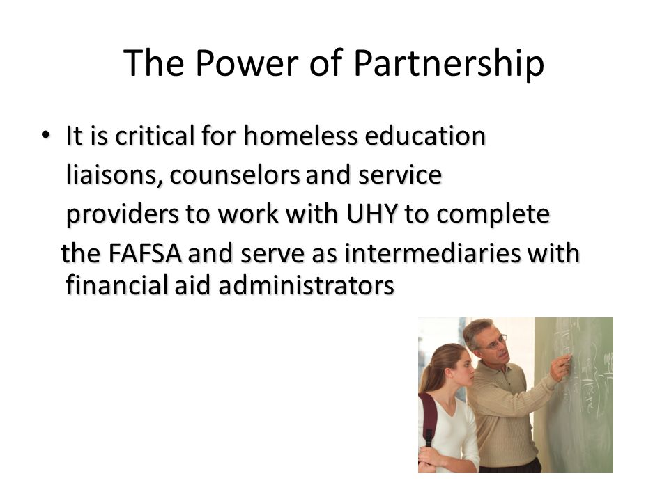 The Power of Partnership