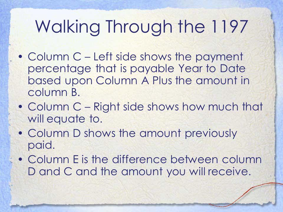 Walking Through the 1197
