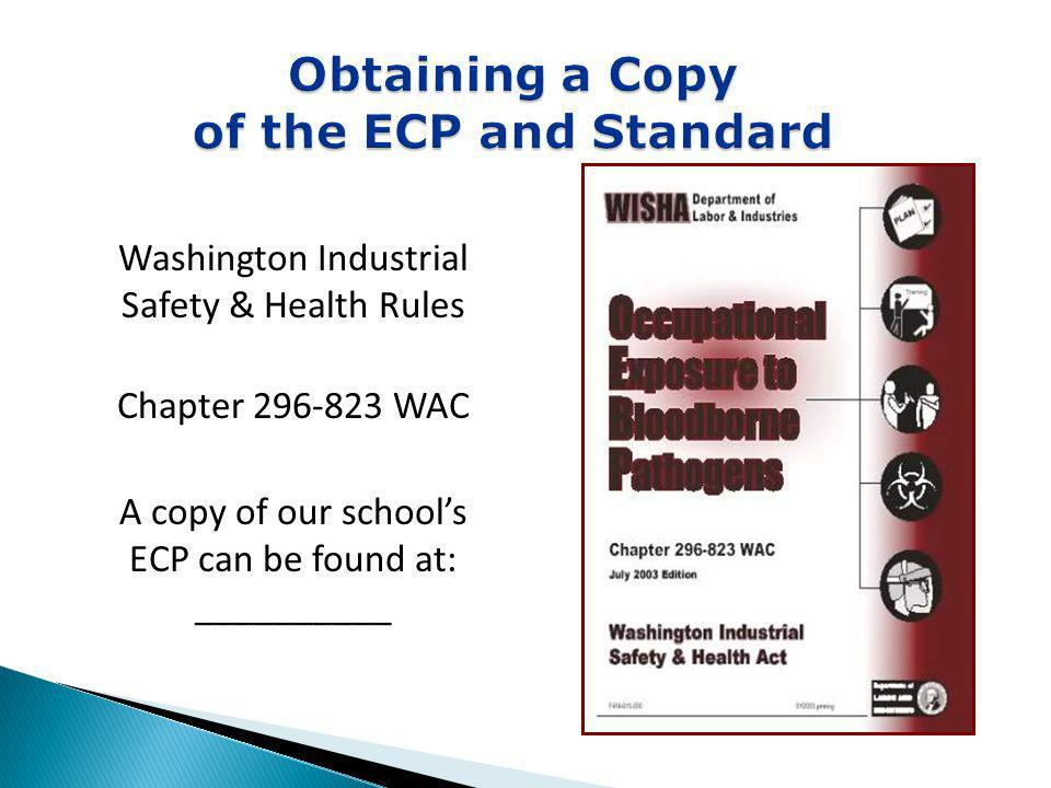 Obtaining a Copy of the ECP and Standard