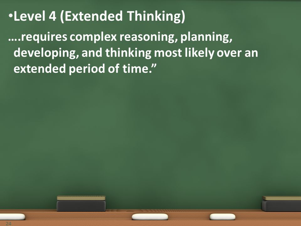 Level 4 (Extended Thinking)