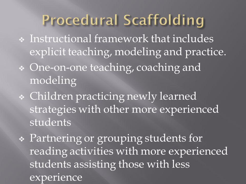Procedural Scaffolding