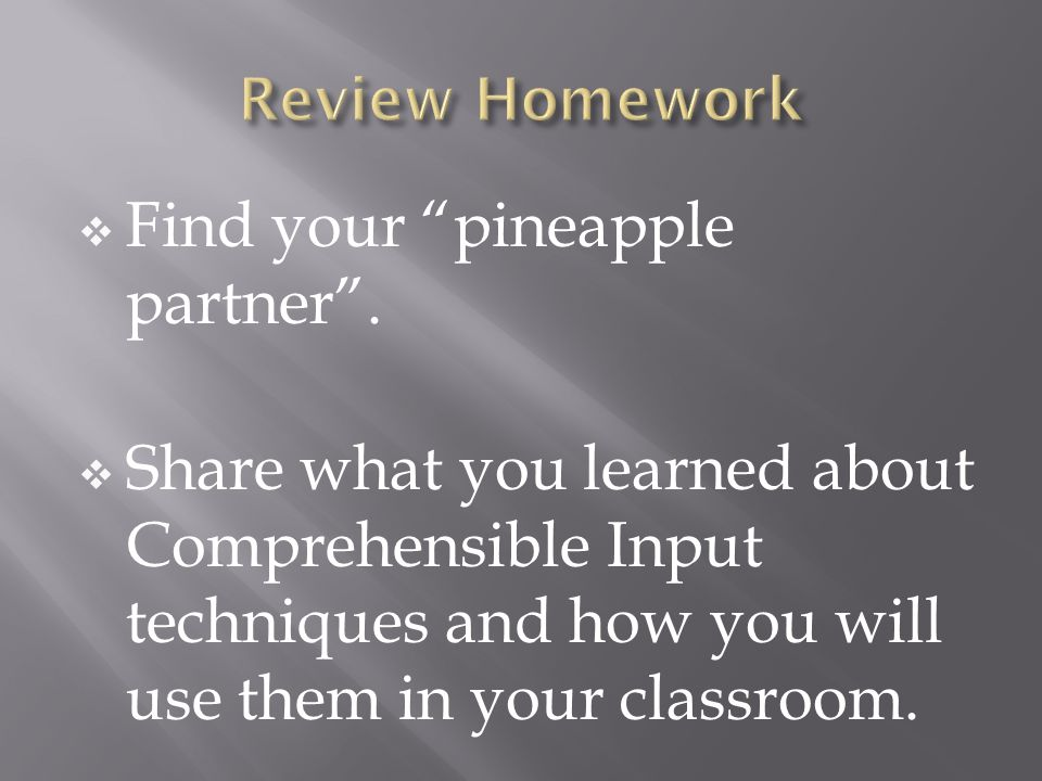 Find your pineapple partner .