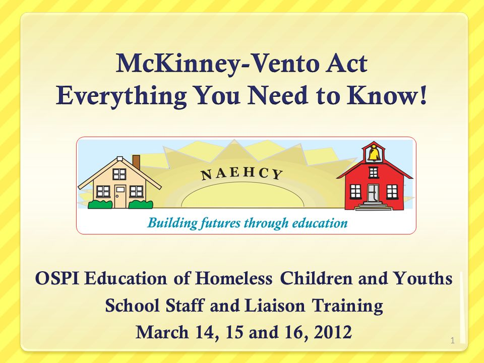 McKinney-Vento Act Everything You Need to Know!