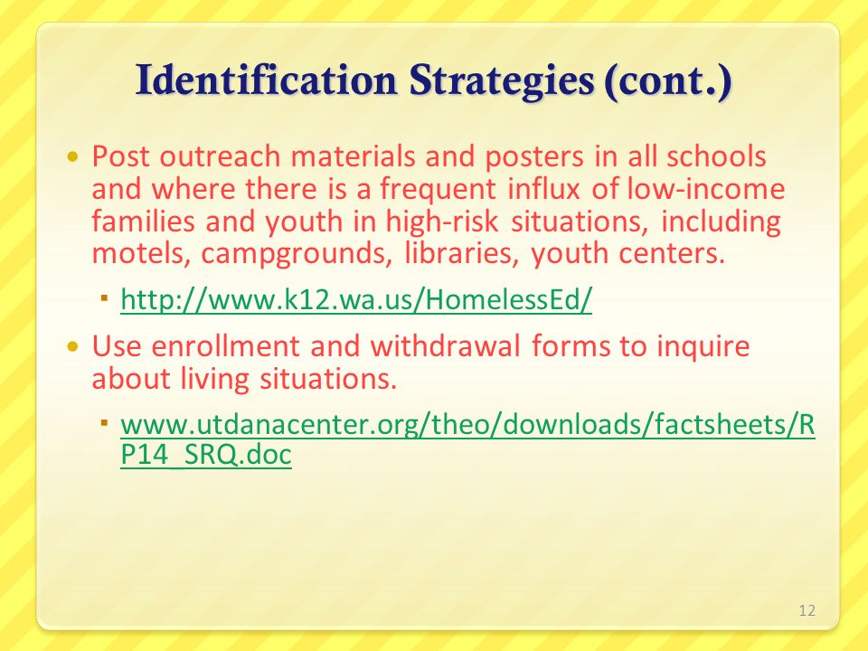 Identification Strategies (cont.)