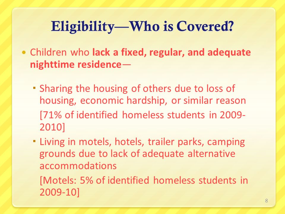 Eligibility—Who is Covered