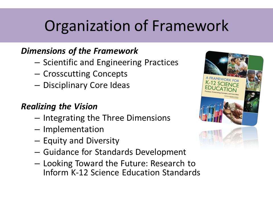 Organization of Framework